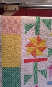 Detail of Starla Carroll's quilt