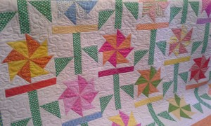 Starla Carroll's quilt pieced by her mother